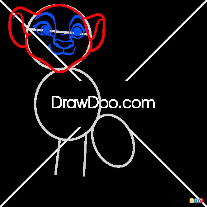 How to Draw Kiara, The Lion Guard