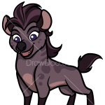How to Draw Jasiri, The Lion Guard
