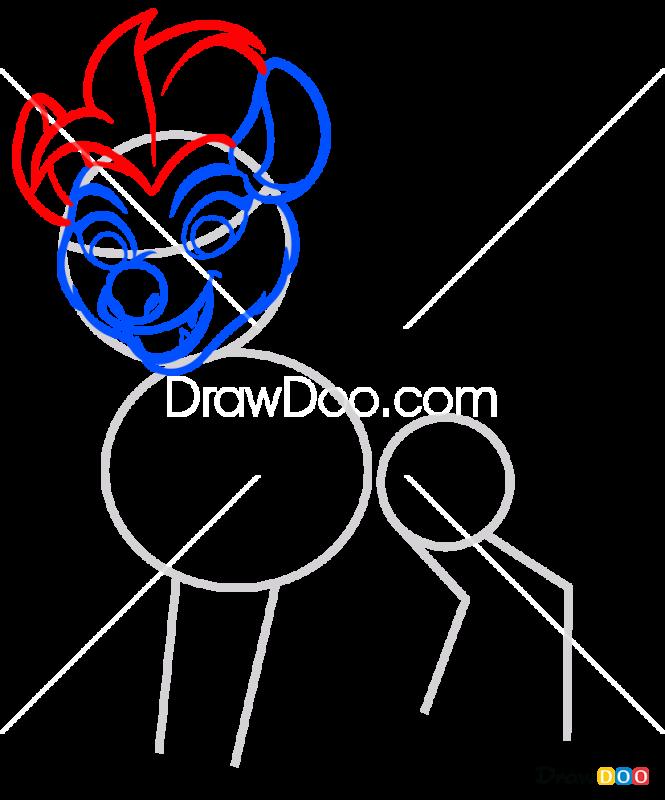 How to Draw Jasiri, The Lion Guard