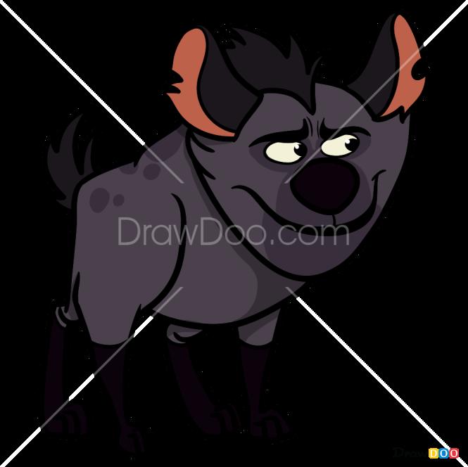 How to Draw Chungu, The Lion Guard