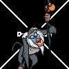 How to Draw Rafiki, The Lion Guard