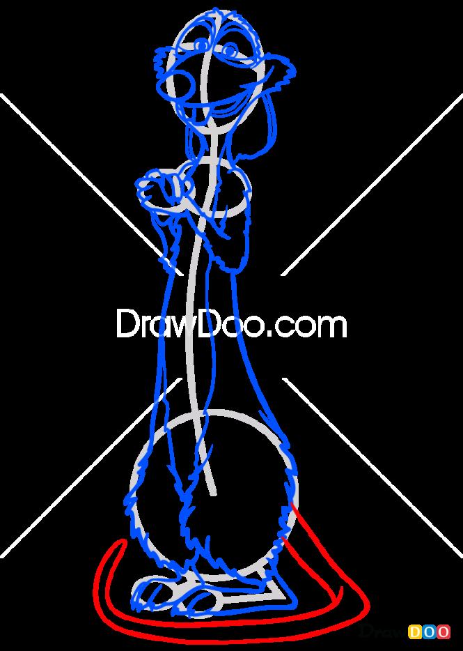 How to Draw Buddy, The Nut Job 2