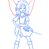 How to Draw Zarina, Tinker Bell