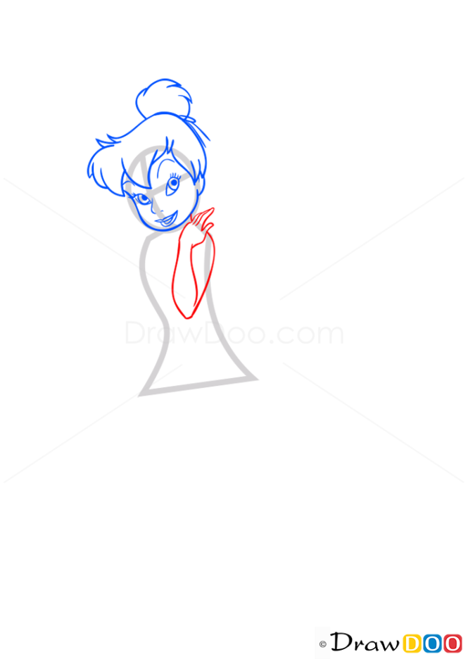 How to Draw Tinkerbell, Tinker Bell