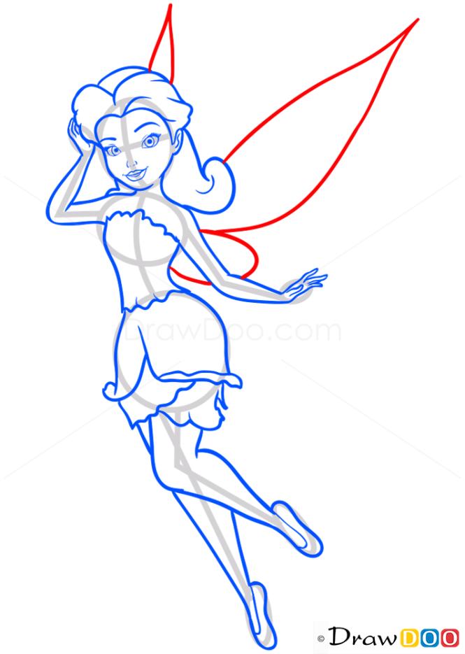 How to Draw Rosetta, Tinker Bell