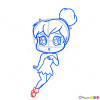 How to Draw Chibi Tinkerbell, Tinker Bell