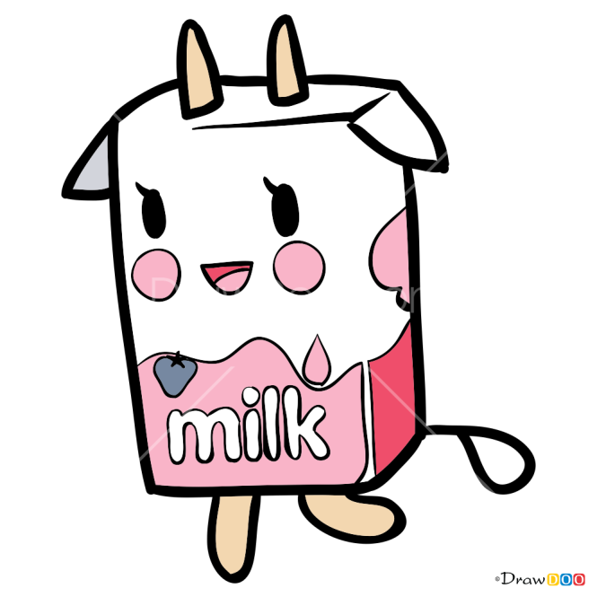 How to Draw Strawberry Milk, Tokidoki