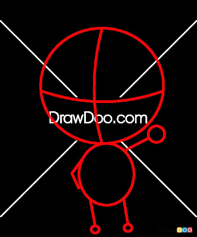 How to Draw Kaneki Chibi, Tokyo Ghoul