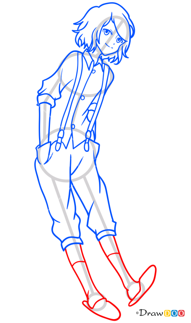 How to Draw Suzuya Juuzou, Tokyo Ghoul