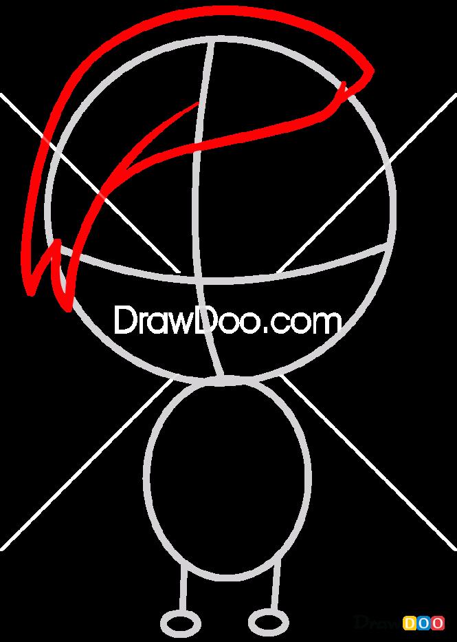 How to Draw Uta Chibi, Tokyo Ghoul