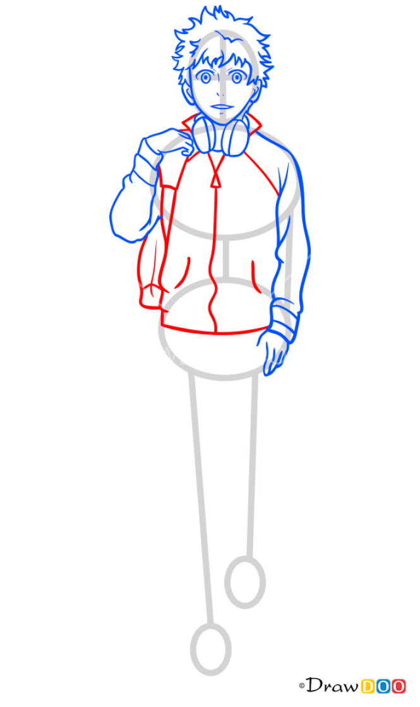 How to Draw Hideyoshi Nagachika, Tokyo Ghoul