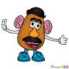 How to Draw Mr. Potato Head, Toy Story