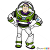 How to Draw Buzz, Toy Story
