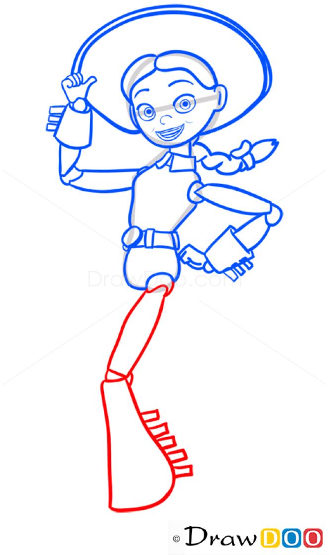 How to Draw Jessie, Toy Story