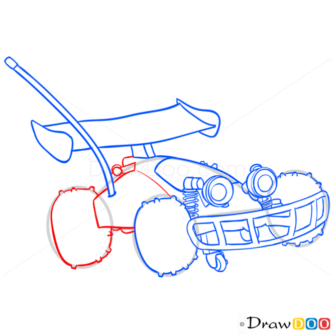 How to Draw RC, Toy Story