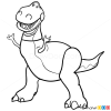 Image Result For T Rex Coloring Page Rex Toy Story Toy