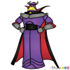 How to Draw Zurg, Toy Story