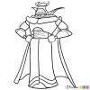 How to Draw Zurg, Toy Story