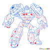 How to Draw Grimelock, Transformers