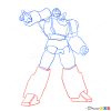 How to Draw Hotrod, Transformers