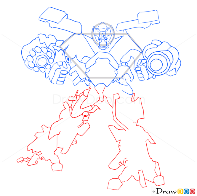 How to Draw Ironhead, Transformers