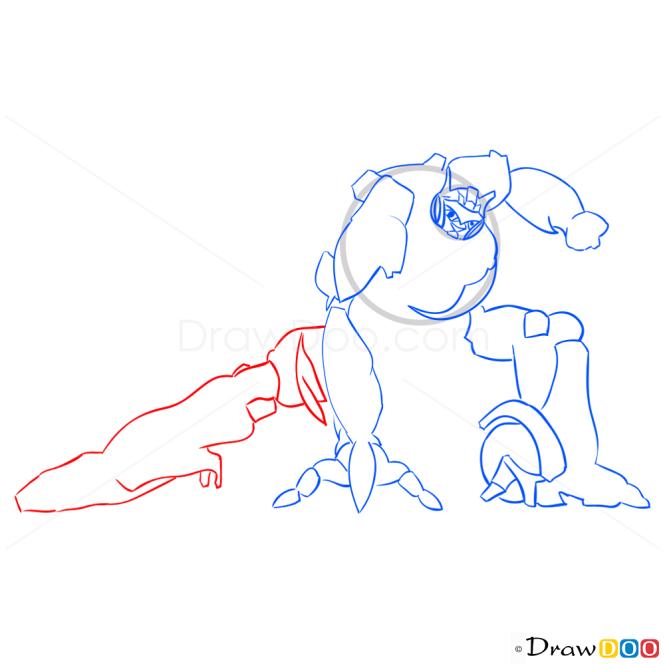 How to Draw Jazz, Transformers