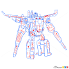 How to Draw Jetfire, Transformers