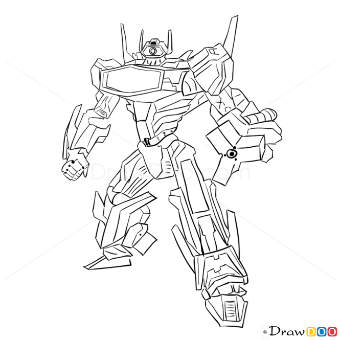 How To Draw Shockwave Transformers