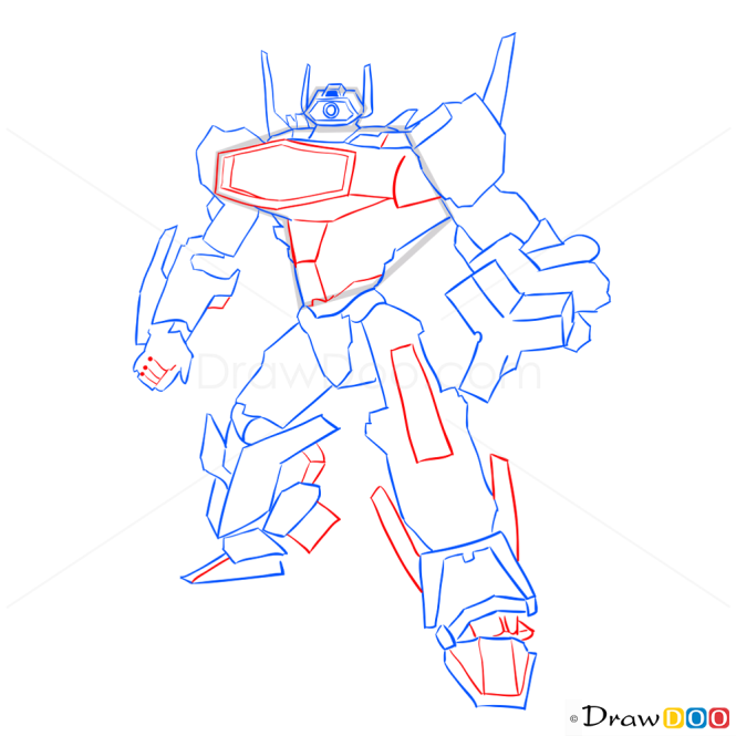 How to Draw Shockwave, Transformers