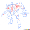 How to Draw Starscream, Transformers
