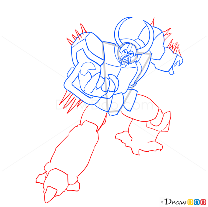 How to Draw Unicron, Transformers