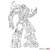 How to Draw Megatron, Transformers