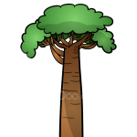 How to Draw Baobab, Trees