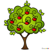 How to Draw Apple Tree, Trees
