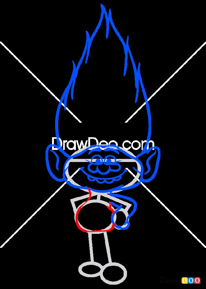 How to Draw Diamond, Trolls