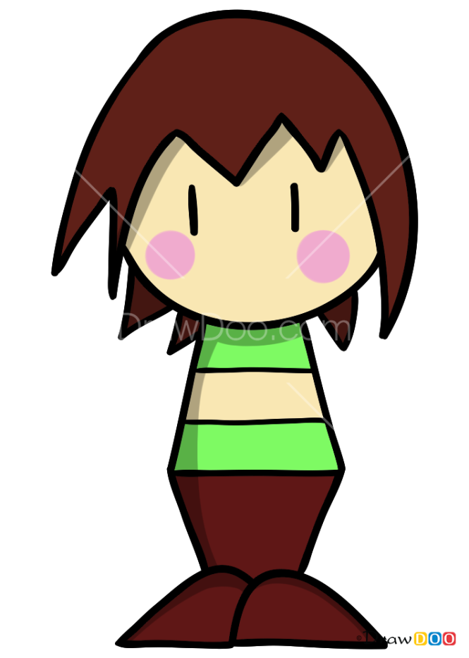 How to Draw Chara, Undertale