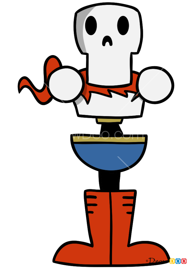 How to Draw Papyrus, Undertale