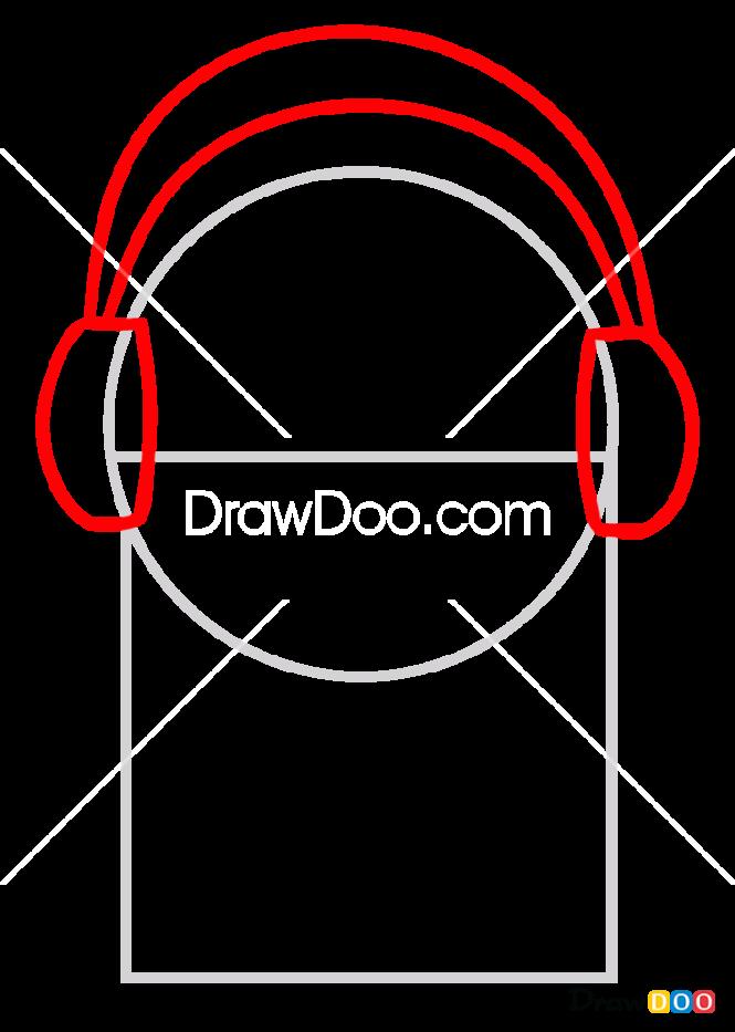 How to Draw Napstablook, Undertale