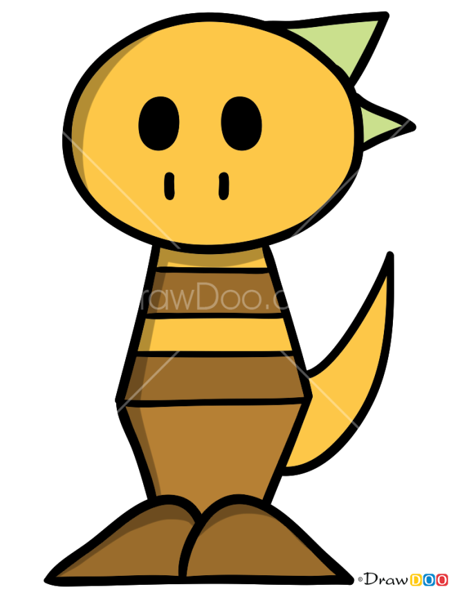 How to Draw Monster Kid, Undertale