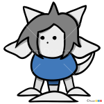 How to Draw Tem, Undertale