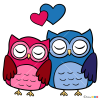How to Draw Sweet Owls, Valentines