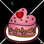 How to Draw Valentines Cake, Valentines