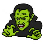 How to Draw Green Vampire, Vampires and Werewolfs