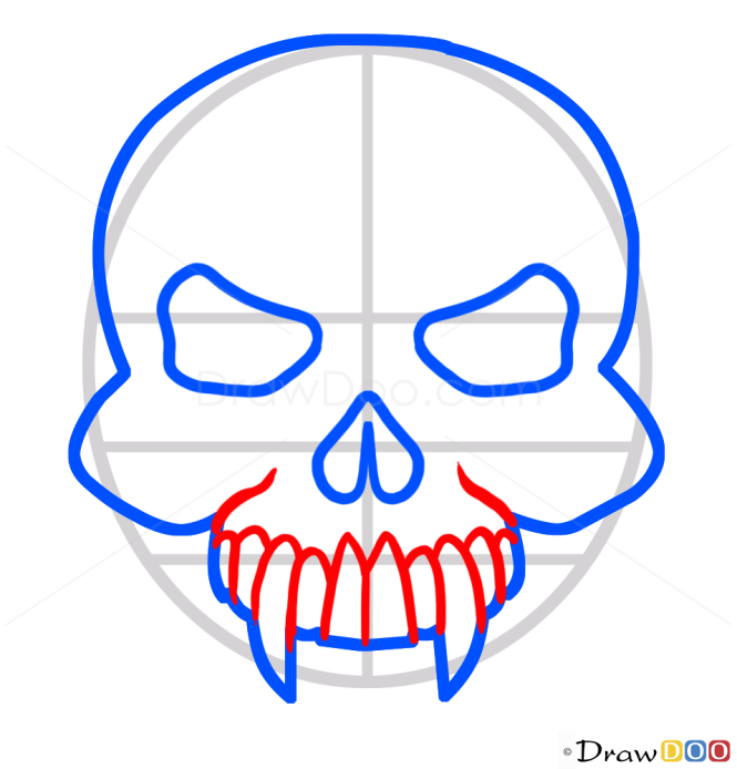 How to Draw Vampire s Skull, Vampires and Werewolfs