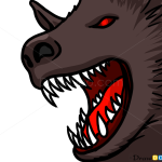 How to Draw Werewolf Face, Vampires and Werewolfs