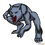 How to Draw William, Uderworld: Evolution, Vampires and Werewolfs