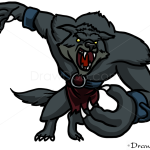 How to Draw Warwick, LOL, Vampires and Werewolfs