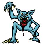 How to Draw Werewolf Easy, Vampires and Werewolfs