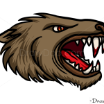 How to Draw Werewolf Head, Vampires and Werewolfs