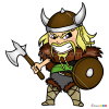 How to Draw Chibi Viking, Vikings
